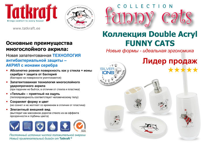 Double Acryl Funny Cats 2